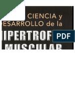 Ciencia y Desarrollo de La Hipertrofia Muscular Br