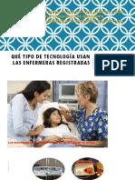 1. Qué Tipo de Tecnología Usan Las Enfermeras Registradas