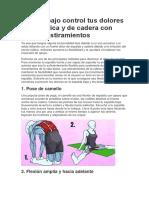 Estiramiento Para Ciatica y Cadera