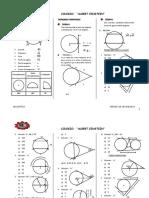 Geometria Circunferencia Tercero de Secundaria