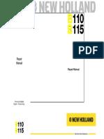 New Holland B110 Backhoe Loader Service Repair Manual.pdf