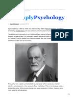 Sigmund Freud and His Psychodynamic Theories