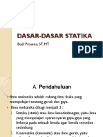 5. Dasar-dasar Statika