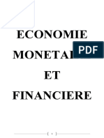 Economie Monetaire Et Financiere