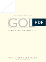 The Experience of God Being Consciousness Bliss