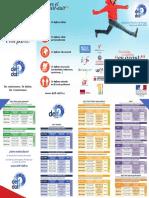 Calendario DELF-DALF 2019