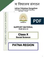 SST study material class-x
