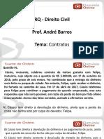 PPTRQ - Direito Civil - Contratos - Prof. Andre Barros