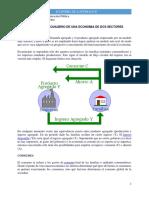 Modelo de Equilibrio de Una Economia de Dos Sectores (1)