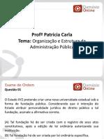 RQ OAB - AULA 1 Patricia Carla
