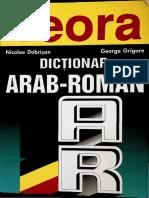 Nicolae Dobrisan Dictionar Arab Roman