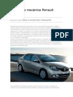 Manual de Mecánica Renault Logan