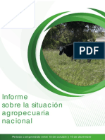Plan Agropecuario Informe