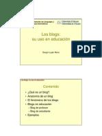Blog y Aprendizaje
