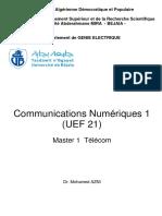 Cours_AZNI Mohamed_Communications Numériques 1 (UEF 21)