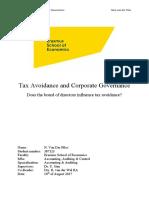 Tax Ovoidance