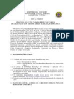 Edital 002-2019- Edital de Artes