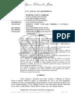 Recurso Especial Nº 1.639.314 - Mg