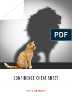 confidence cheat sheet