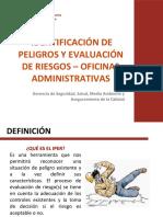 Identificacion de Peligros y Evaluacion de Riesgos en Oficinas.pptx
