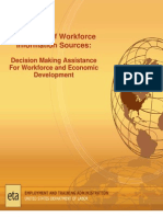 Catalogue of Workforce Information Sources