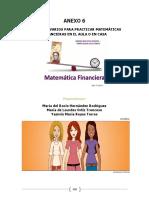 Slidedoc.es-anexo 6 Ejercicios Varios Para Practicar Matemáticas Financieras en El Aula o en Casa. Propuestos Por