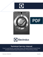 2016 Electrolux LuxCare Dryer