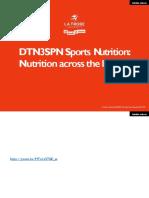 Nutrition Through the Lifespan