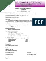 Proposal - Curriculum Review
