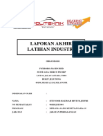 Laporan Akhir Latihan Industri DSK