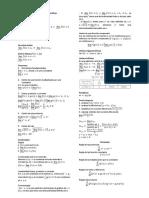 Formulario de Matemáticas I