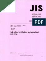 JIS G 3131