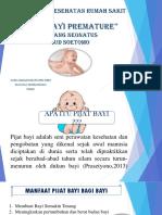 Pijat Bayi Ruang Neonatus