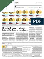 Publiacion de El Comercio Julio 2018