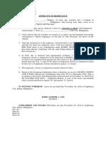 AFFIDAVIT OF DESISTANCE - Nazareno.docx