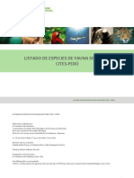 Listado Fauna Cites Final 2018
