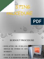 Casting Procedure