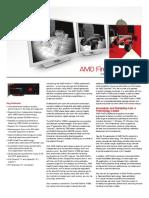 AMD FirePro V7900 Datasheet
