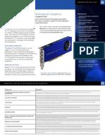 Radeon Pro Wx4100 Datasheet