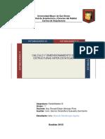 4 Calculo y Dimensionado de Vigas (Estructuras Hiper Estaticas)