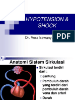 Hypotension & Shock