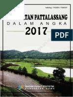 Kecamatan Pattallassang Dalam Angka 2017