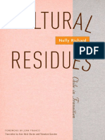 Nelly Richard, Alan West-Duran, Theodore Quester-Cultural Residues_ Chile in Transition (Mcsa-Cultural Studies of the Americas)-Univ of Minnesota Press (2004)