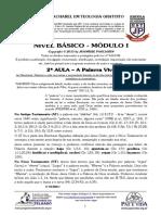 BÁSICO - Mód I - 2ª AULA - A Palavra RHEMA.pdf