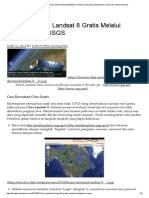 Cara Download Landsat 8 Gratis Melalui EarthExplorer USGS