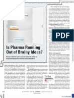 Is Pharma Running Out of Brainy Ideas