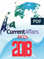 CSS Current Affairs MCQs 2018-19 Edition