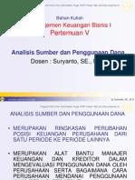 Analisis Sumber Dan Penggunaan Dana1