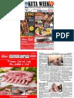 "Kuta Weekly - Edition 615 ""Bali's Premier Weekly Newspaper"""