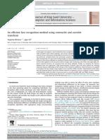 An Efficient Face Recognition Method Using Curvelet Transform